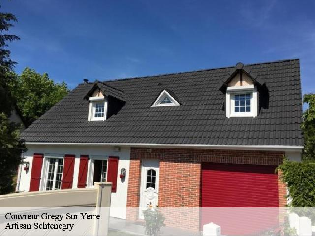 Couvreur  gregy-sur-yerre-77166 Artisan Schtenegry